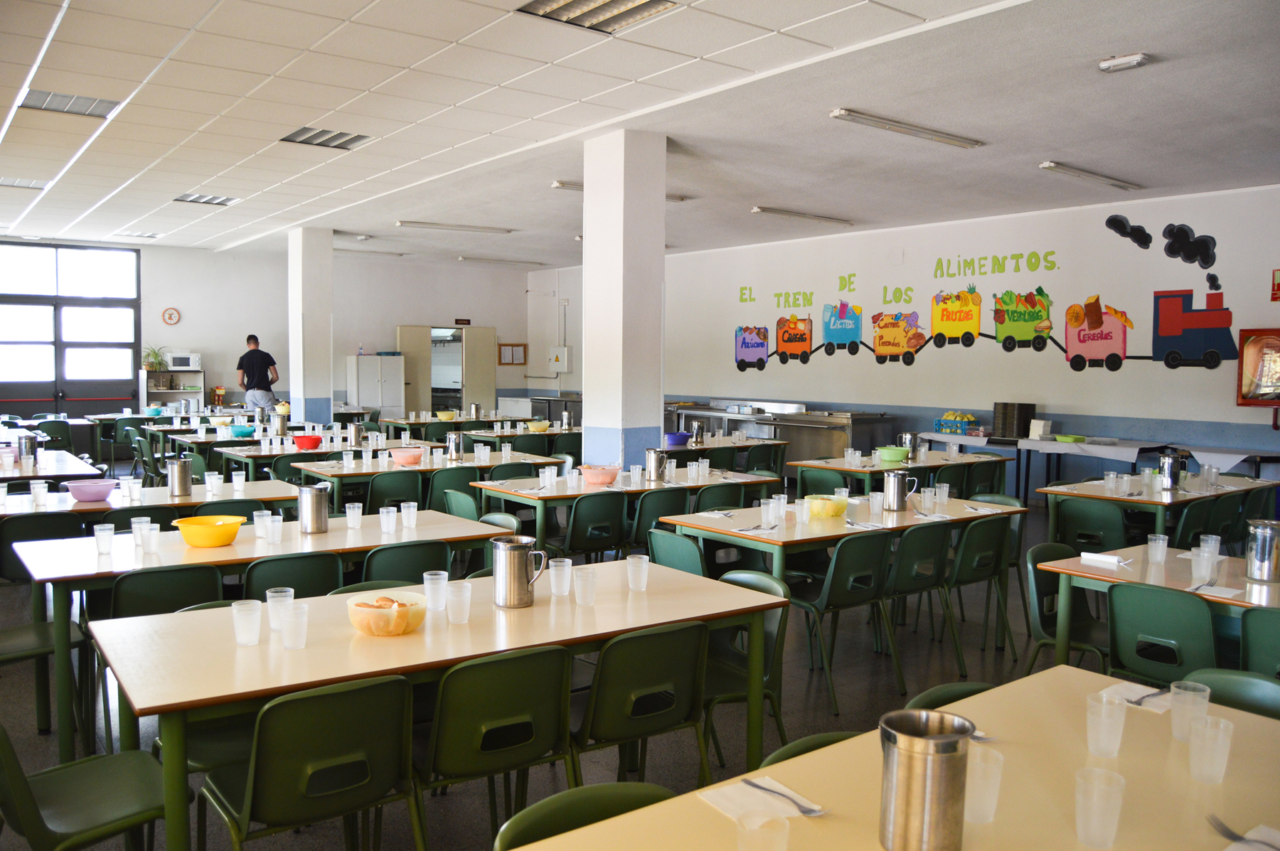 El comedor grande the image kid has it for Comedor de escuela